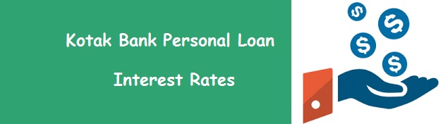 Kotak Personal Loan – Interest Rates Oct 2018, EMI Eligibility Calculator